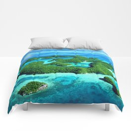 Palau Island Paradise Comforters