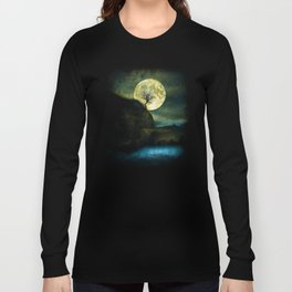 The Moon and the Tree. Long Sleeve T-shirt