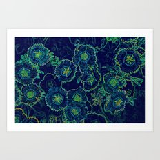 Blue Fantasy Art Print