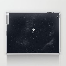 Gravity - Dark Blue Laptop & iPad Skin