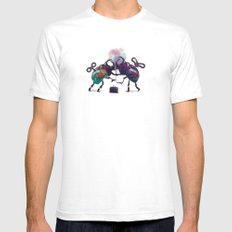Fight Mens Fitted Tee White SMALL