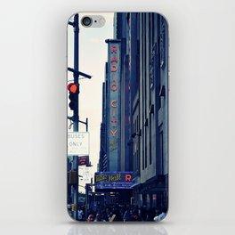 Radio City iPhone Skin