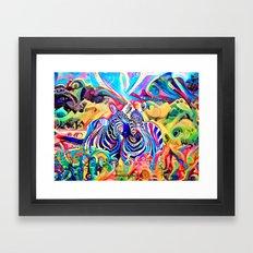 The Rainbow Sisters Framed Art Print