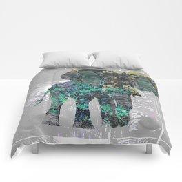 Elephant Folliage Comforters