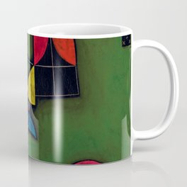 Paul Klee - Stillleben mit Pflanze und Fenster - Plant and Window - Still Life Coffee Mug