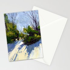 Shadows in the Snow Stationery Cards