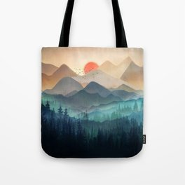 Wilderness Becomes Alive at Night Tote Bag