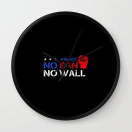 No Ban Wall Clock