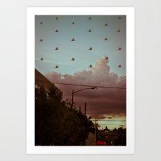 The Migration Art Print