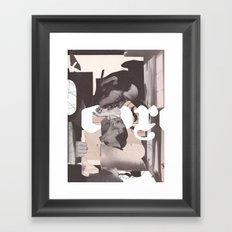 Lit Lady Framed Art Print