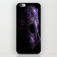Harlequin mask iPhone & iPod Skin