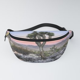 Joshua Tree Sunset. Joshua tree. Pink. Tree. Desert. Mojave. California. Fanny Pack