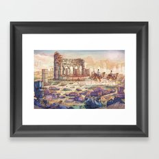 Neapolis Framed Art Print