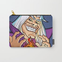 old Wizard casting a spell Carry-All Pouch