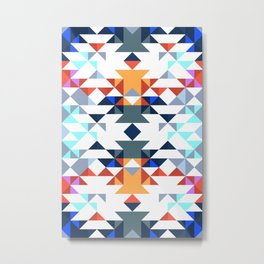 Aztec 5 Metal Print