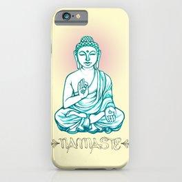 Buddha Namaste iPhone Case
