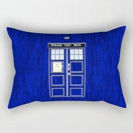 Tardis Time Rectangular Pillow