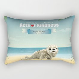 Jeffy The Harbor Seal Rectangular Pillow