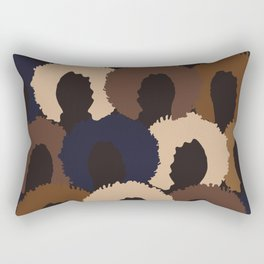 Afro Woman Faces Rectangular Pillow