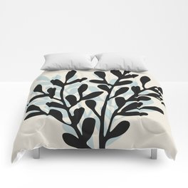 Still Life with Vase and Tree Branches Comforters