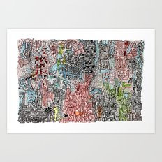 And Everything Is Where It Ought To Be Art Print