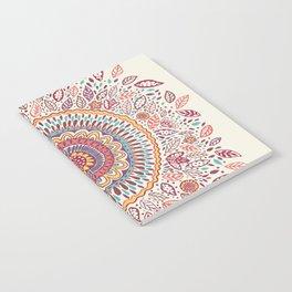 Sunflower Mandala Notebook
