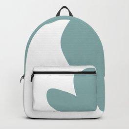 strawberry fruit green color pastel | elegant Backpack