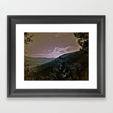 Window Into Framed Art Print
