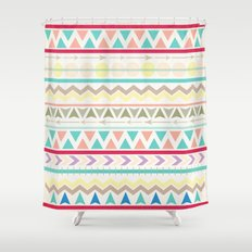 Afternoon Pool Party Shower Curtain