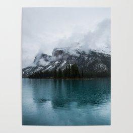 Smokey Mountains Landscape Photography Alberta Poster