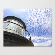 Lighthouse's Tale  Canvas Print