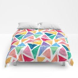 Watercolor Pattern Comforters