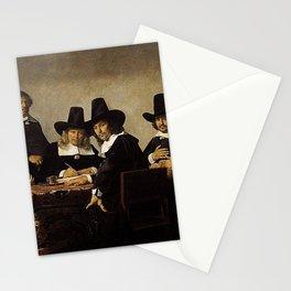 Jan de Bray - Regents of the Children's Orphanage in Haarlem Stationery Cards