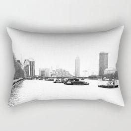 The River Thames. Rectangular Pillow