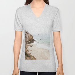 Malibu California Beach Unisex V-Neck