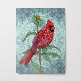 Virginia Cardinal Metal Print