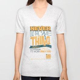Never Unisex V-Neck