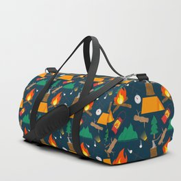 Let's Explore The Great Outdoors - Dark Blue Duffle Bag
