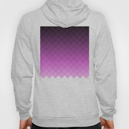 Ombre squares - Purple Hoody