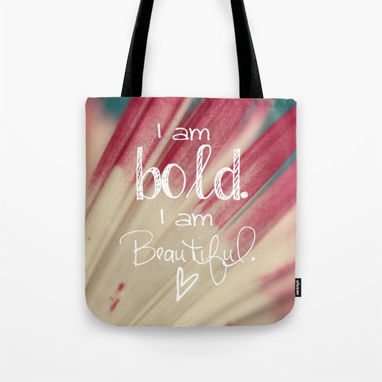 Bold and Beautiful Tote Bag