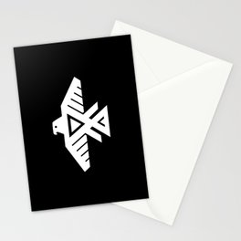 Thunderbird flag - inverse Stationery Cards