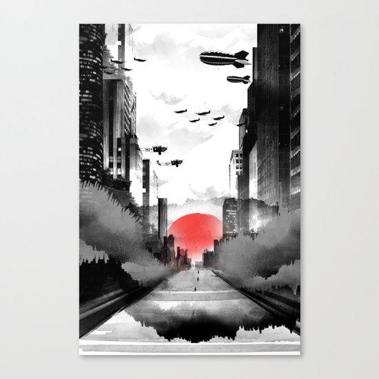 Still Rising Canvas Print