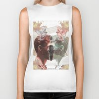 boho Biker Tanks featuring SUMMER BOHO by MANDIATO ART & T-SHIRTS
