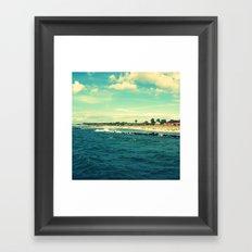 The Baltic Sea No. 8 (Square) Framed Art Print