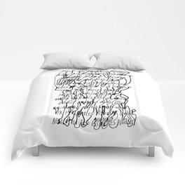 FORMIDABLE...ADVERSITY Comforters