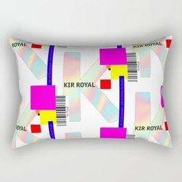 """Cocktail """"K"""" - Kir Royal Rectangular Pillow"""