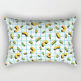 80s / 90s mac and cheese Rectangular Pillow
