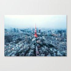 Tokyo Megacity Canvas Print