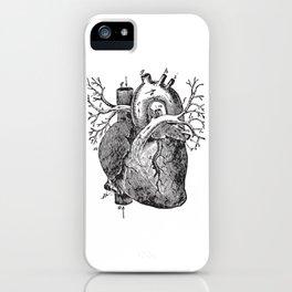 Human Heart Anatomy Detailed Illustration iPhone Case