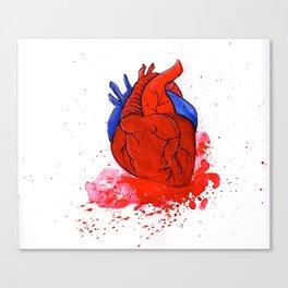 The Tell Tale Heart Canvas Print